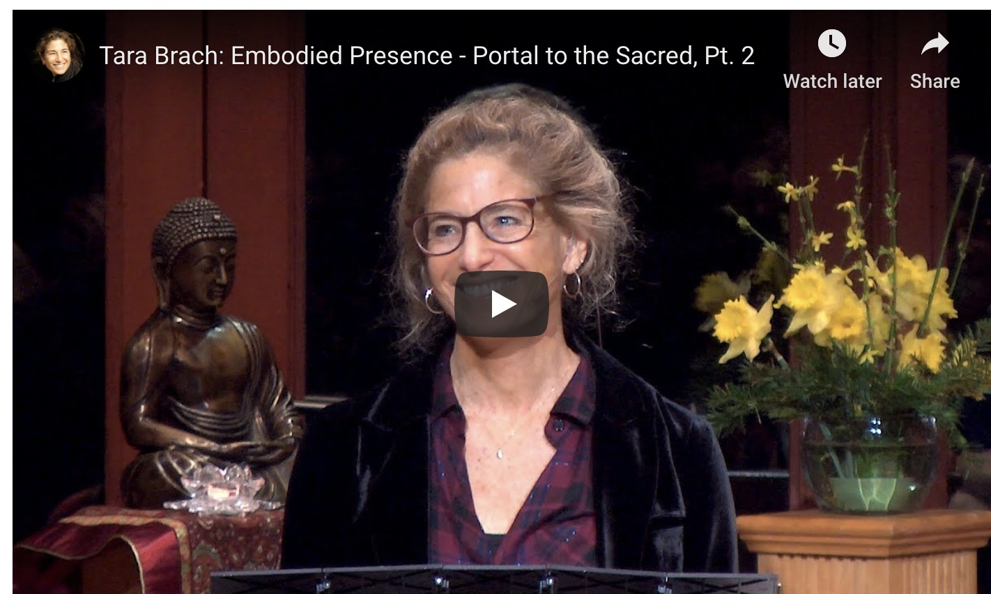 Tara Brach - Embodied presence - portal to the sacred 2 screenshot